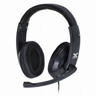 FONE HEADSET GAMER V BLADE II P2 ESTEREO COM MICROFONE RETRATIL E AJUSTE DE HASTE - PRETO SKU 35450