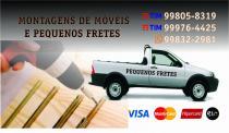 Imagem do anuncio MONTADOR DE MOVEIS  E PEQUENOS FRETES