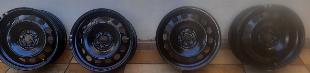roda de ferro com bico aro 16 vw original sem uso T CROSS