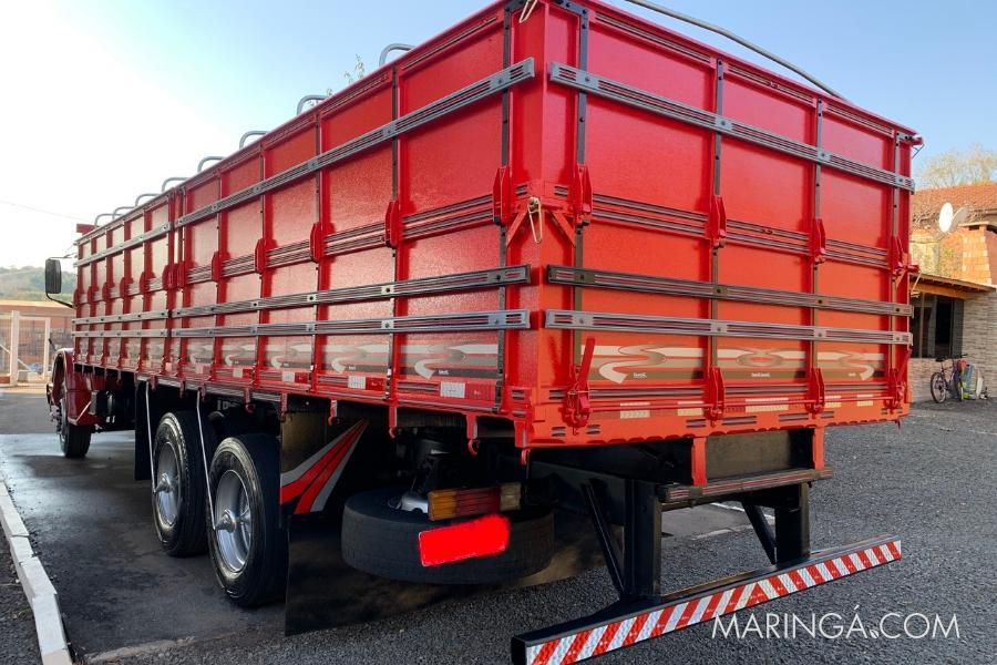 caminhão mb 1618 ano 1990 truck turbo direção