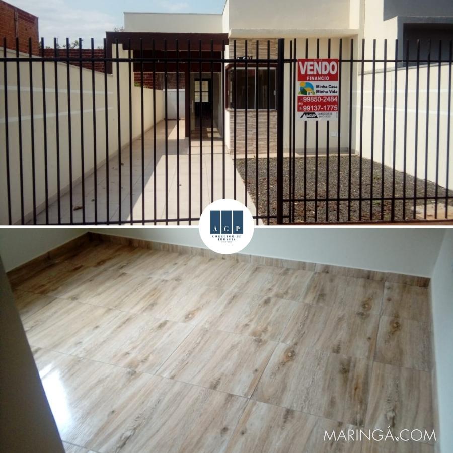 15 Mil de Entrada,  menor preço de Sarandi casa nova, com churrasqueira. Aproveite, última casa nesse preço.