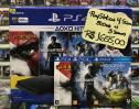 Imagem do anuncio PlayStation 4 Slim 500GB c/ 3 Jogos - Seminovo Conservado