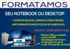 Imagem do anuncio Formatação e Manutenção de Notebooks