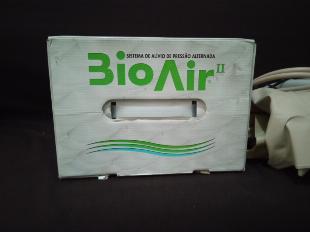 colchão de ar pneumático -Bio Air ll ,com compressor, vai alternando ciclo de ar massageando