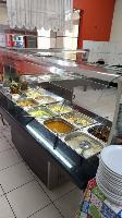Buffet quente e buffet frio