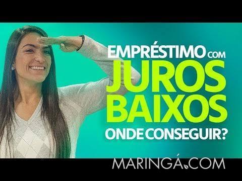 EMPRÉSTIMO DE DINHEIRO EM MARINGÁ