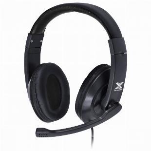 FONE HEADSET GAMER V BLADE II USB COM MICROFONE RETRATIL E AJUSTE DE HASTE PRETO - GH204 SKU 35453