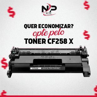 Toner Compatível com HP CF258X - 12x S/Juros!!