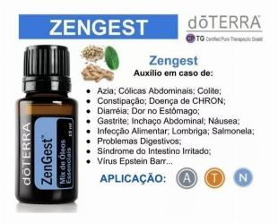 Óleo Essencial DoTerra Zengest - 5x S/ Juros!!
