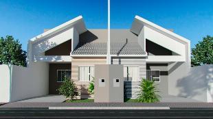 Casa em Sarandi - JD Ouro Verde com churrasqueira + área gourmet completa, com acabamentos Top.