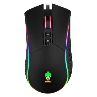 Mouse Gamer Evolut Skadi Rgb Eg-106 12x S/Juros