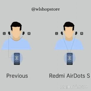 Fone de Ouvido sem fio Redmi Airdots S