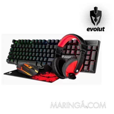 Kit Gamer Starter Evolut Eg-51 - 12x S/Juros