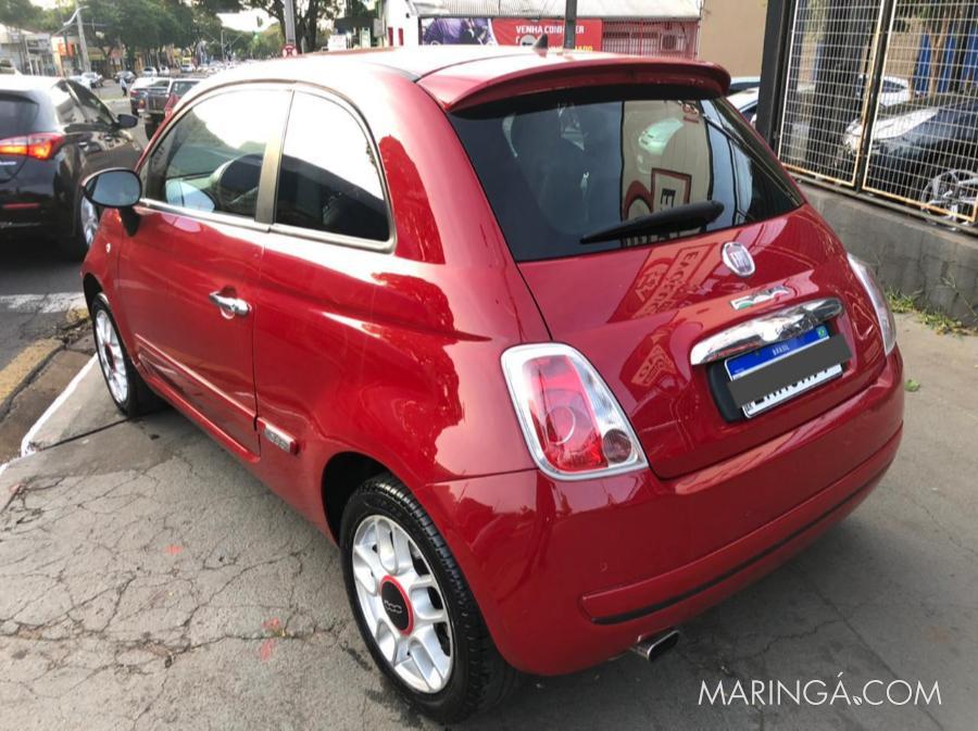 Fiat 500 Sport 1.4 16v 100Cv Dualogic - 2010 ( Impecável)