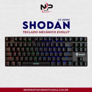 Teclado Mecanico Gamer Evolut Shodan Eg203 - 12x S/Juros!!