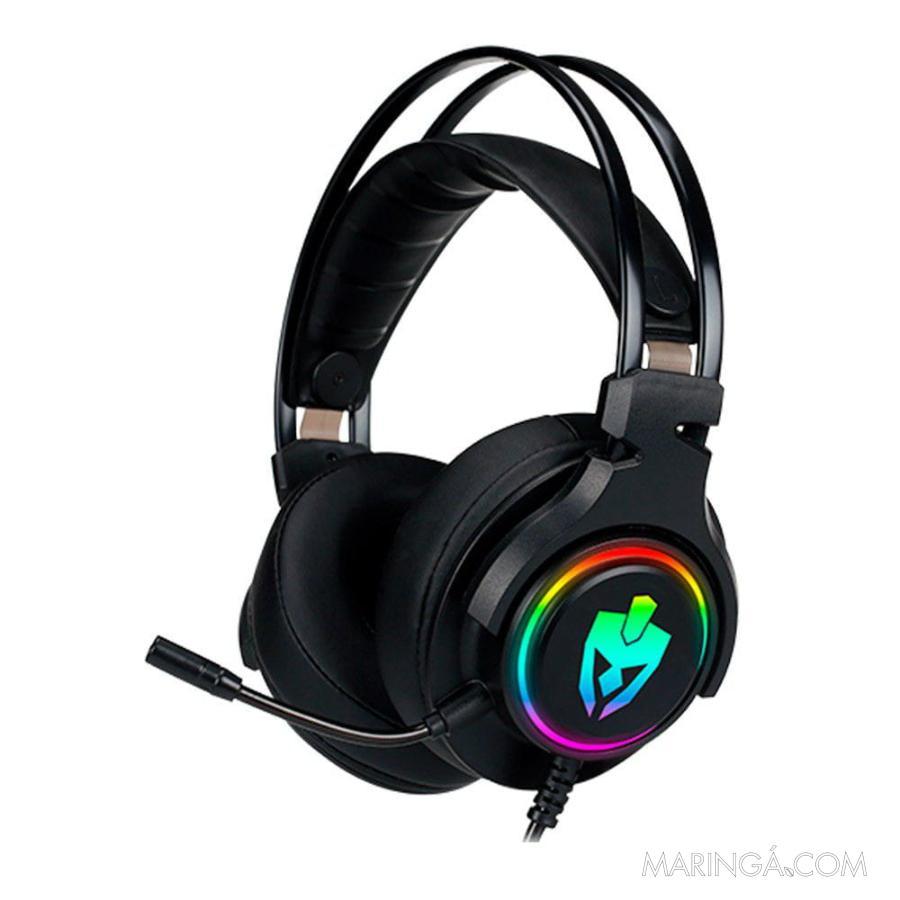 Headset Gamer Evolut Agni 7.1 RGB Eg-340 - 12x S/Juros!!