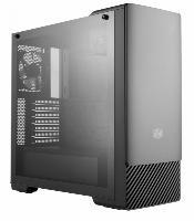 GABINETE MASTERBOX E500 MIDTOWER PAINEL DESLIZANTE SEM ODD PRETO - MCB-E500-KGNN-S00 SKU 34979