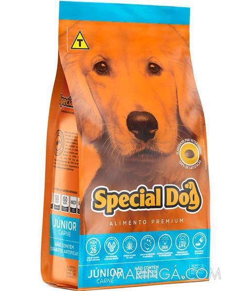 RAÇÃO SPECIAL DOG CARNE JÚNIOR
