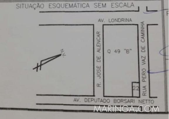 VENDE-SE SALA COMERCIAL E EDÍCULA SOBRADO - AV. BORSARI NETTO