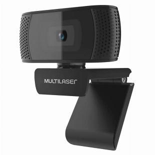 Webcam Full HD 1080P 4K USB Multilaser - 12x S/Juros!!