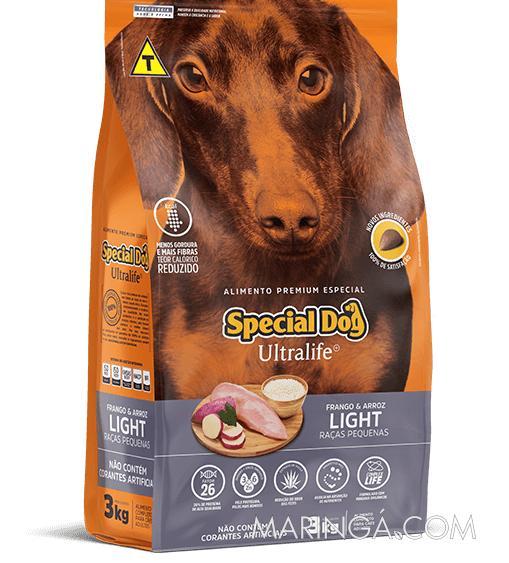 RAÇÃO SPECIAL DOG LIGHT RAÇAS PEQUENAS