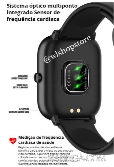Smartwatch Colmi P8 SE (Original + Película Tela)