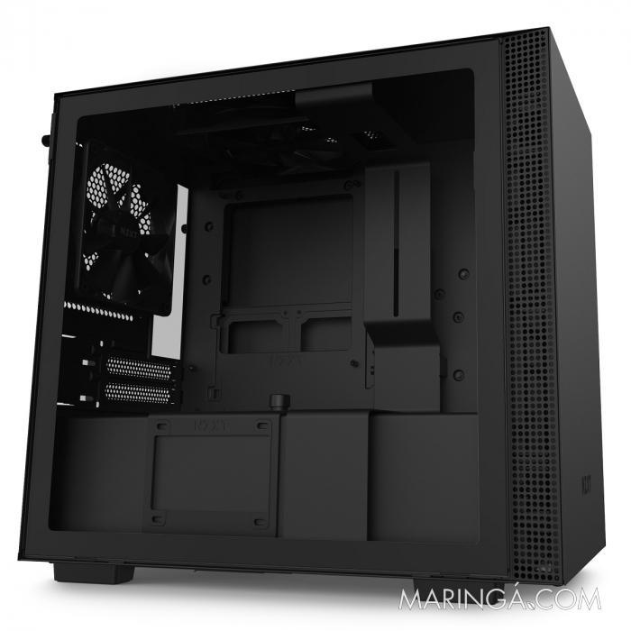 GABINETE MINI-ITX - H210 BLACK - LATERAL COM VIDRO TEMPERADO - CA-H210B-B1 SKU 32351
