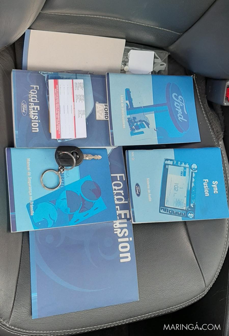 FUSION AWD 3.0 V6 AUTOMATICO 2010 TETO SOLAR, BEM CONSERVADO