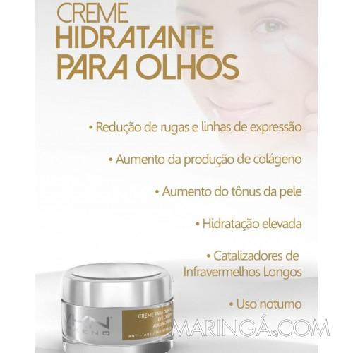 Creme Hidratante Para Os Olhos 15gr Vakeno - 12x S/ Juros!!