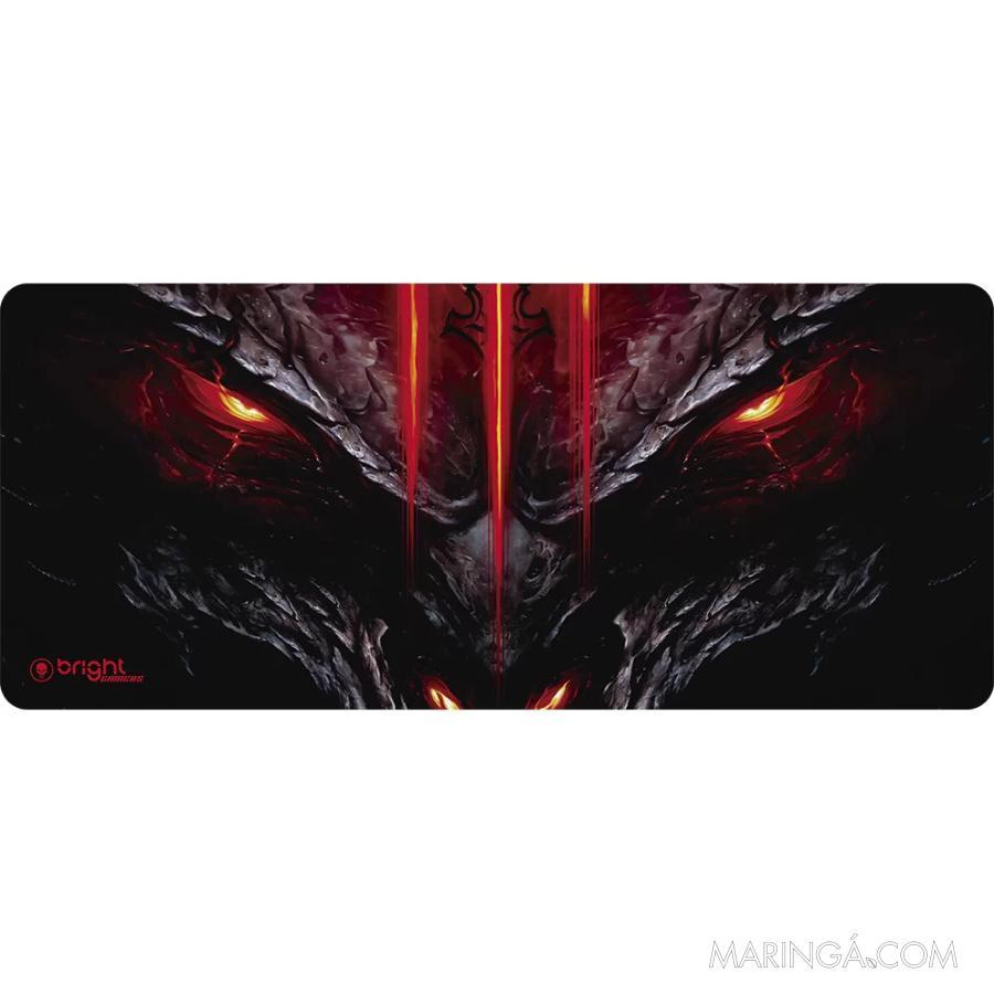 Mouse Pad Gamer Big Dragão Bright - 5x S/Juros!!