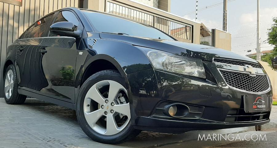 CRUZE LT 2012 AUTOMÁTICO .8 FLEX MULTIMÍDIA, PLACA A, BEM CONSERVADO