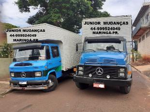 JUNIOR MUDANÇAS MARINGÁ-PR (DESMONTAMOS MÓVEIS) 44-999524049