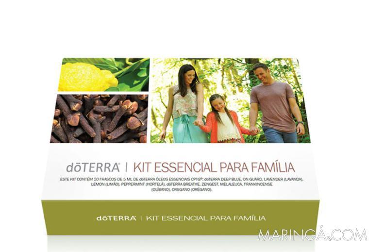 Doterra Kit Essencial Para Família 10 Óleos De 5ml em 12x S/ Juros!!