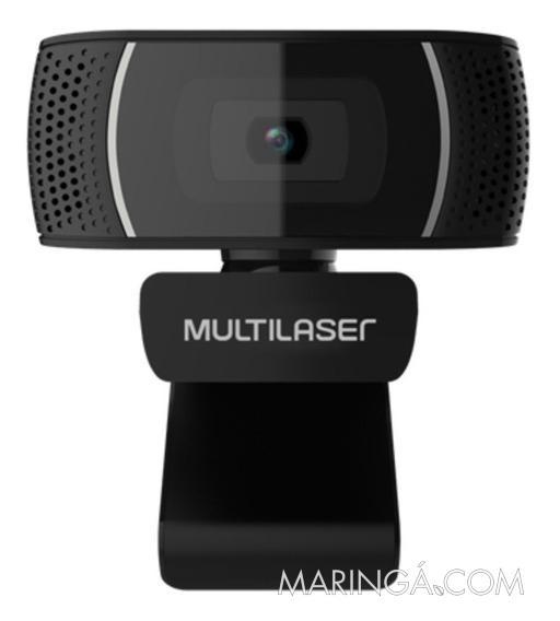 Webcam Plug e Play 480P Mic Usb Preto - 12x S/Juros!!