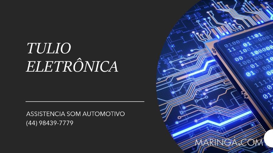 ELETRÔNICA SOM AUTOMOTIVO TULIO