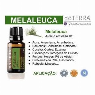 Óleo Essencial De Melaleuca Tea Tree Doterra Em 5x S/ Juros!!