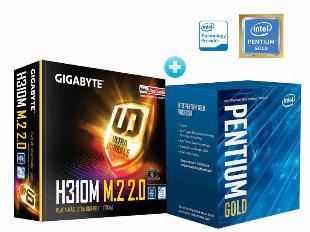 Imagem do anuncio Pentium gold com placa mãe