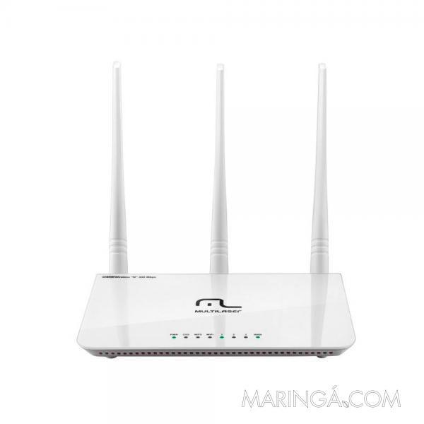 Roteador Wireless Multilaser 300 Mbps RE163V - 12x S/Juros!!