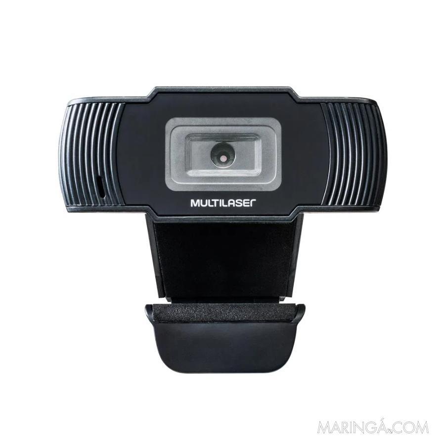Webcam Multilaser 720p 30fps - 12x S/Juros!!