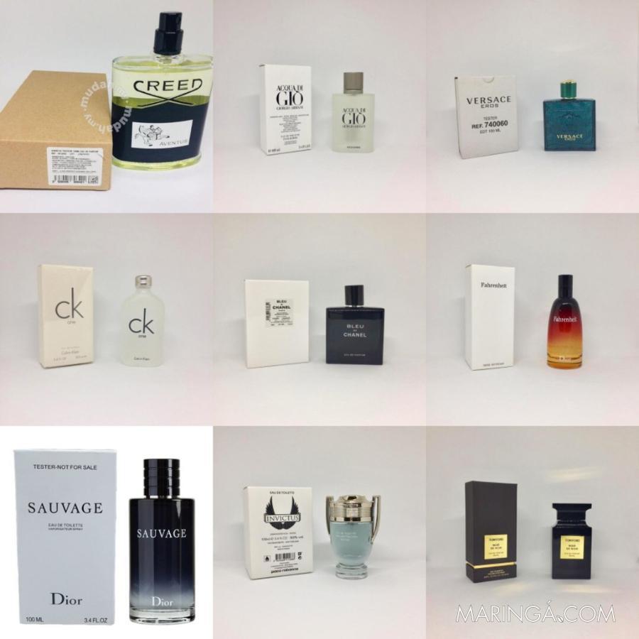 Perfumes Importados Tester - Descrição - Em 12x S/Juros
