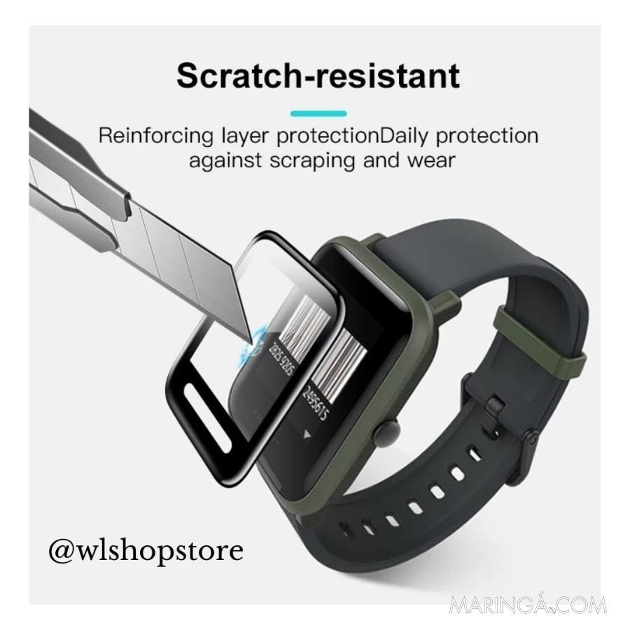 Película Tela Nano Gel Smartwatch Amazfit (Xiaomi)