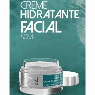 Creme Hidratante Facial 50ml Vakeno - 12x S/ Juros!!