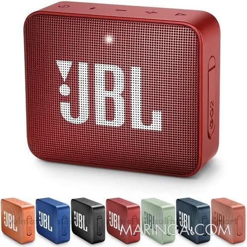 Caixa De Som Jbl Go 2 Portátil Original - Em 12x sem Juros!!