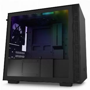 GABINETE MINI-ITX - H210I MATTE BLACK - COM CONTROLADORA DE FANS + FITA DE LED - CA-H210I-B1 SKU 32347