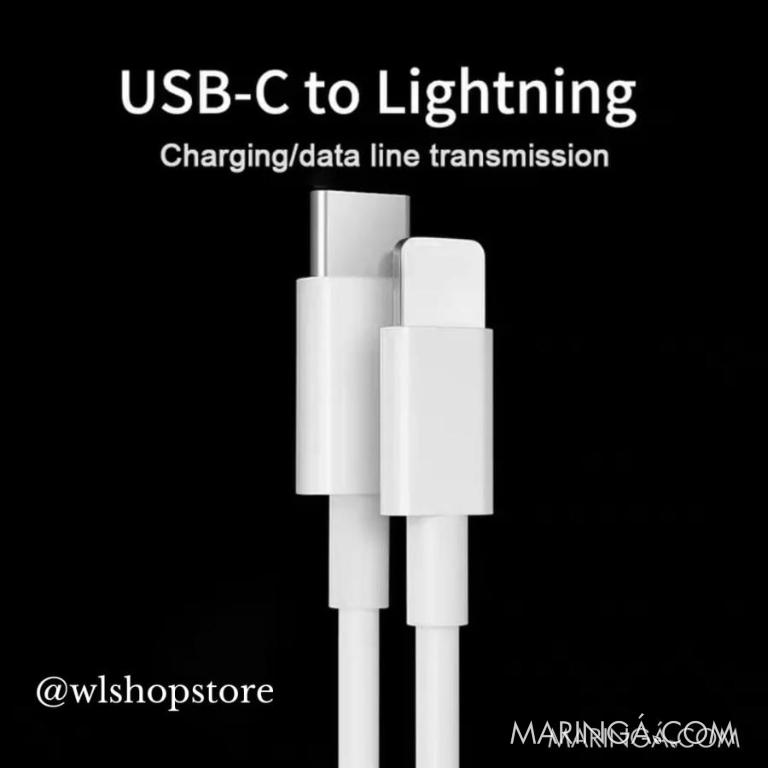 Cabo Carregamento Iphone USB C