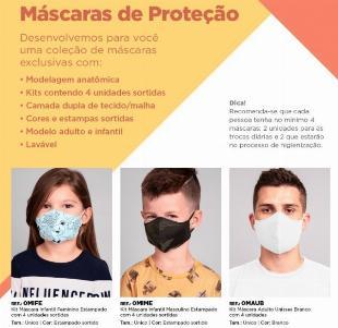 Kit 4 Mascaras