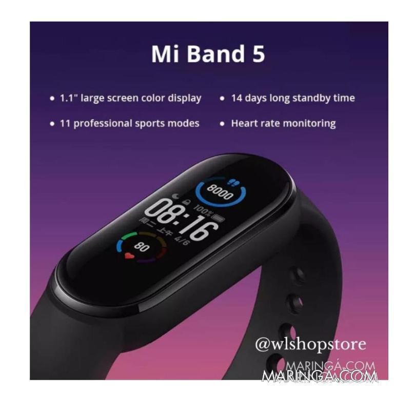 **PROMOÇÃO** Mi Band 5 Xiaomi