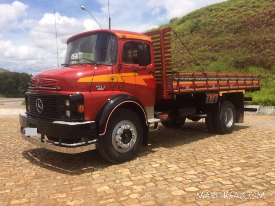 caminhão  mb 1113 ano 1980 toco direção freio ar