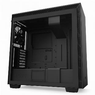 GABINETE ATX MID-TOWER - H710 BLACK - LATERAL COM VIDRO TEMPERADO - CA-H710B-B1 SKU 32357