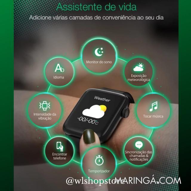 Relógio Smartwatch Blitzwolf HL1 PRO